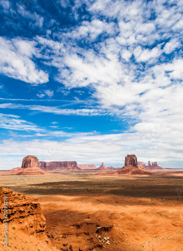 Wall mural Monument Valley