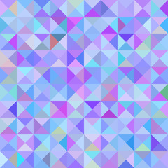 Abstract background with blue triangles. raster