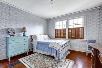 Old fashion bedroom interior