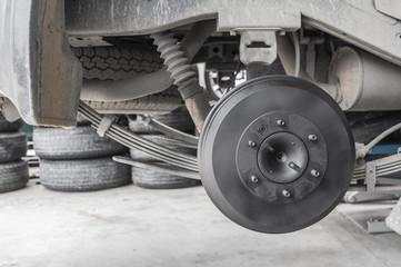 Repairing of car wheel
