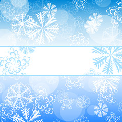 background of snowflakes 3