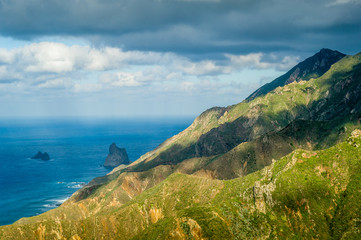 Tenerife rocks and mountains