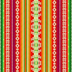 Ethnic fabric pattern