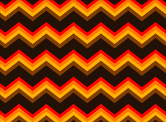 Chevron Autumn Colors, Seamless tile for background