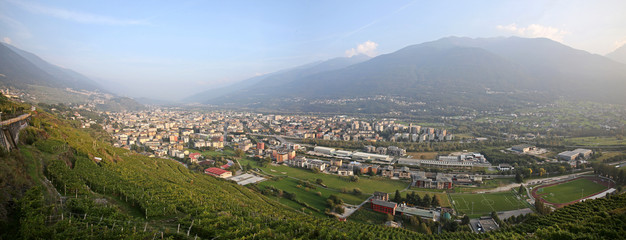 Sondrio: nel cuore delle Alpi