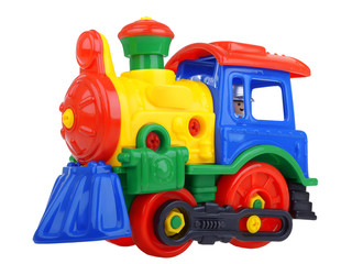 Constructor toy train