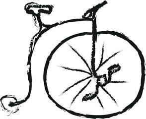 doodle old bike