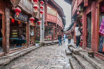 Photo sur Plexiglas Chine Lijiang old town
