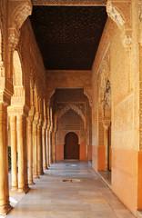 Alhambra Palace in Granada, Islamic decoration