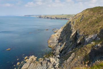 Te Lizard coast Cornwall from Mullion Cove