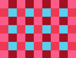 Colorful checkerboard pattern