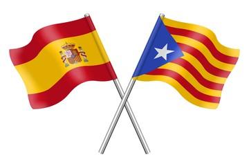 Banderas: España y Cataluña, Estelada blava