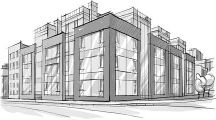 рисунок здания