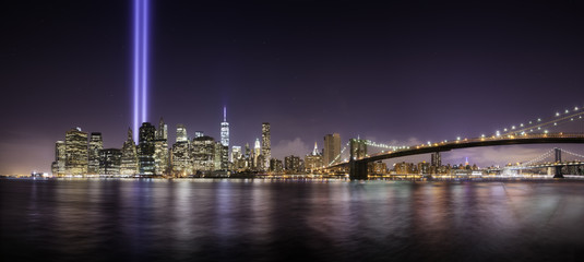 Tribute lights pano