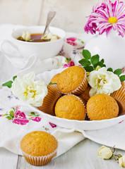 fresh delicious cupcakes