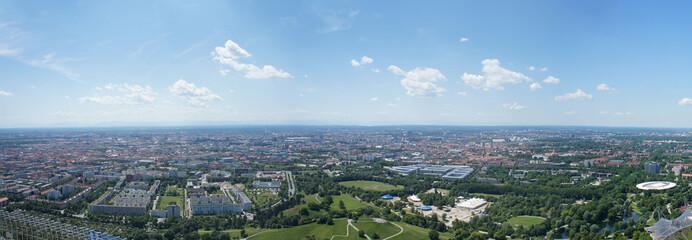 Panoramablick auf München