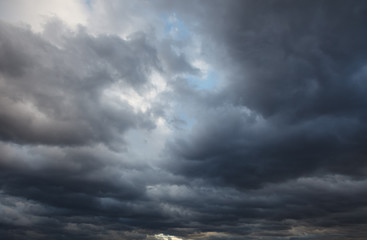 Natural background: stormy sky Wall mural
