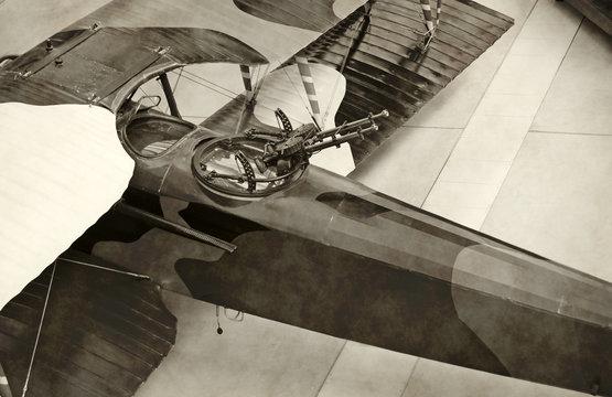 World War I era airplane