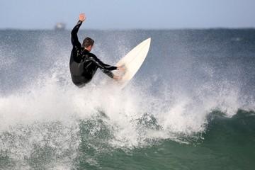 Surfer in Wet Suit