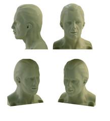 human mannequin head