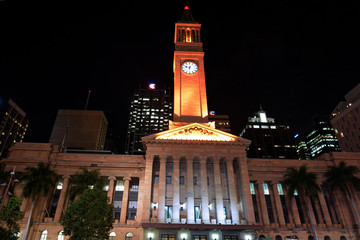 Brisbane City Hall - Queensland Australia