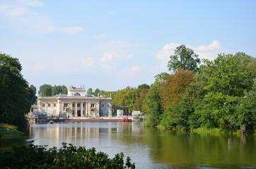Le palais Lazienkowski à Varsovie - Pologne