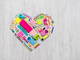 Creative colorful heart