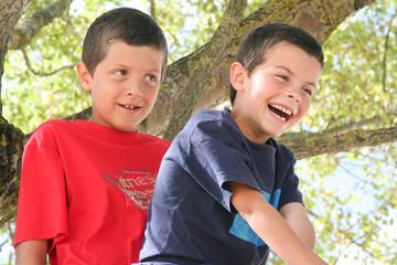Enfants riant