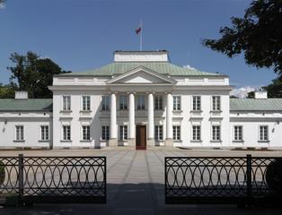 Warszawa,Belweder,siedziba prezydenta