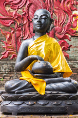 Shin Upagutta Statue in Thai temple