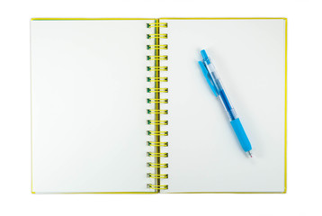 Empty Page Notebook