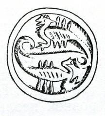 Minoan sealstone with scorpions