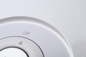 Up button and arrow