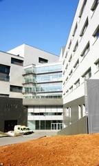Nuevos edificios en el hospital de Sant Pau de Barcelona