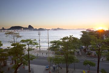 Sunrise in Copacabana Rio de Janeiro