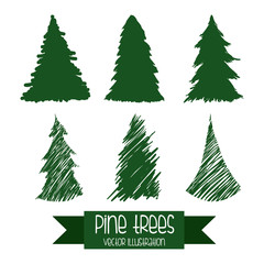 pine tree design