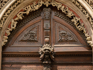 Prague old town door