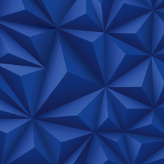 Blue vector geometric background.