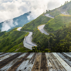 Alpine scenery from Taiwan