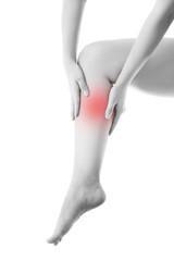 Pain in the female leg