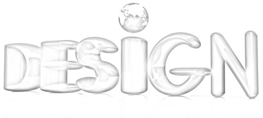 """3d text """"design"""". Pencil drawing"""