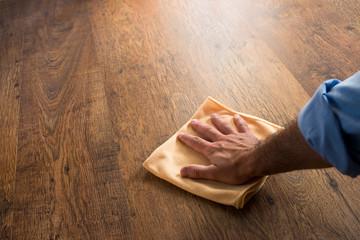 Obraz Hardwood floor manteinance - fototapety do salonu