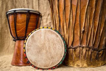 handmade djembe drums