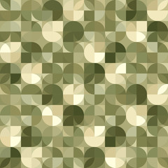 Vector geometric background, illusory abstract seamless pattern.