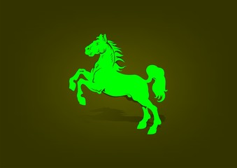 Business Logo Horse
