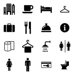 Hotel Icons Iconset