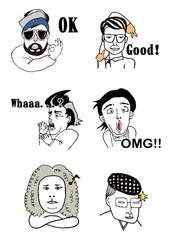 Strange People Illustration
