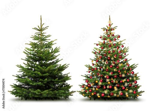 ungeschm ckter und geschm ckter weihnachtsbaum stockfotos und lizenzfreie bilder auf fotolia. Black Bedroom Furniture Sets. Home Design Ideas