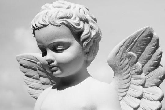 angelic statue