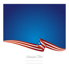 Abstract color background Puerto Rico flag vector